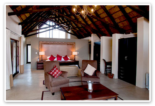 Buffalo Thorn Lodge Malaria Free Big Five Pilanesberg Game Reserve Accommodation Booking Freestanding air-conditioned Chalets Exclusive Use Self-catering Lodge