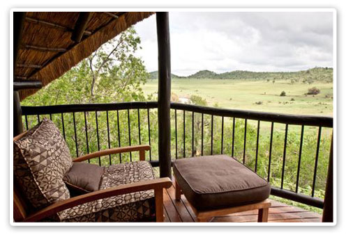 Private Deck Tshukudu Bush Lodge Malaria Free Big Five Pilanesberg Game Reserve Accommodation Booking