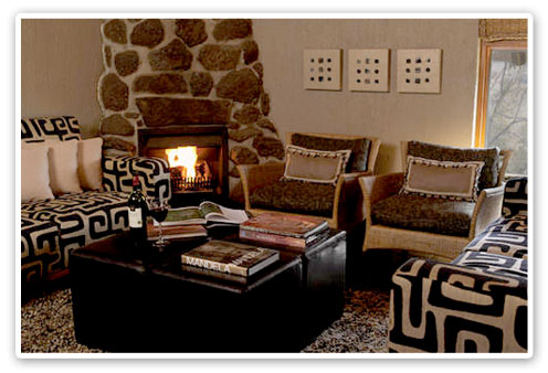 Lounge Tshukudu Bush Lodge Malaria Free Big Five Pilanesberg Game Reserve Accommodation Booking